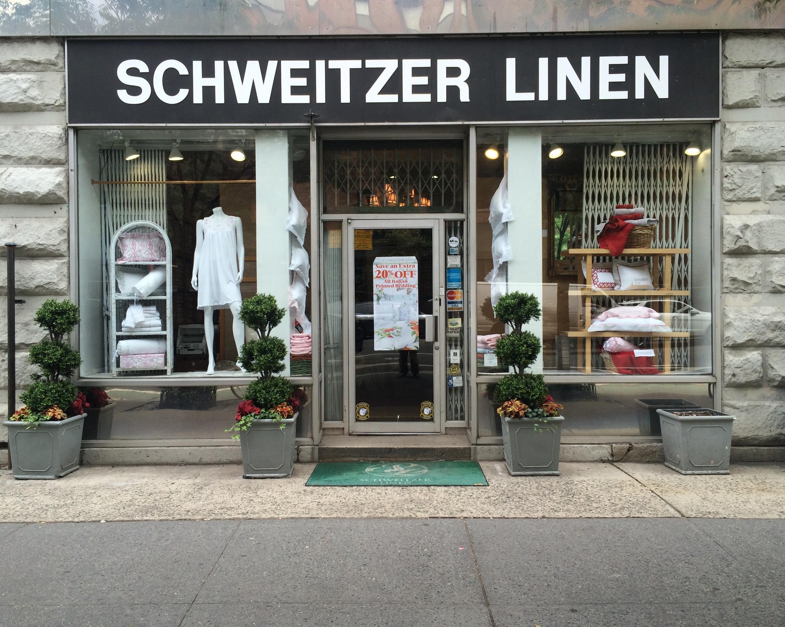 Schweitzer Linen - 457 Columbus Avenue (Between 81st and 82nd Street)