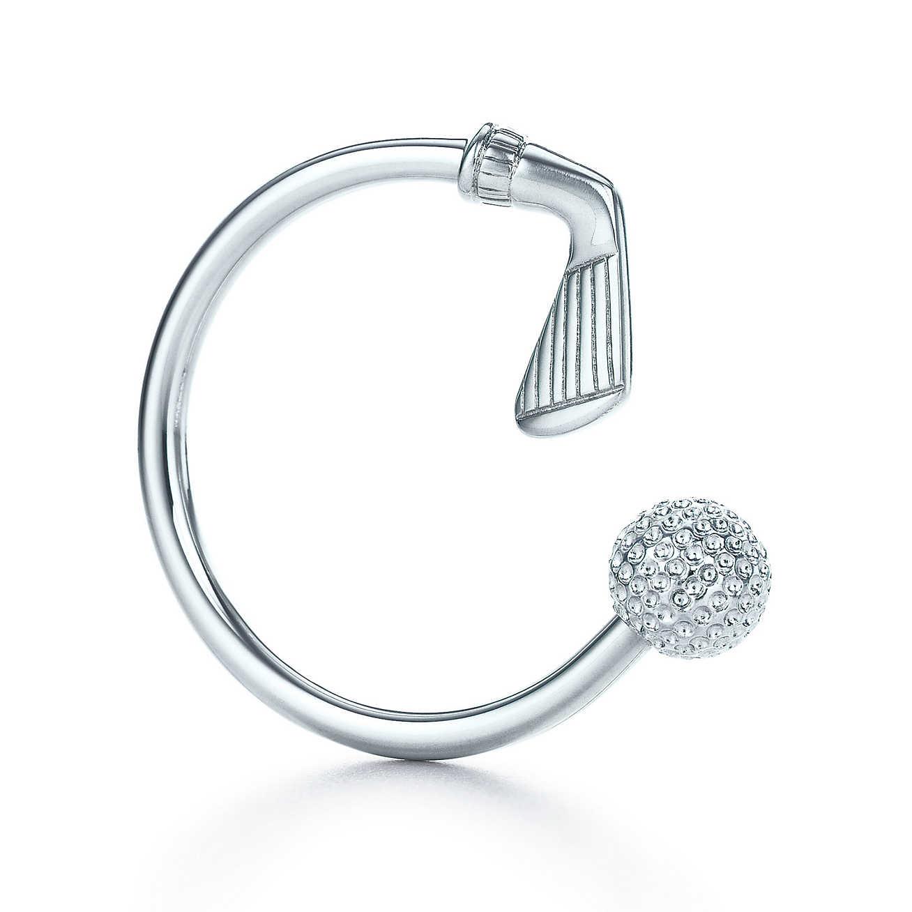 Golf Ball Key Ring