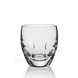 Steuben Glass: Verve Double Old Fashioned Glass,  Corning Museum of Glass  ($85)
