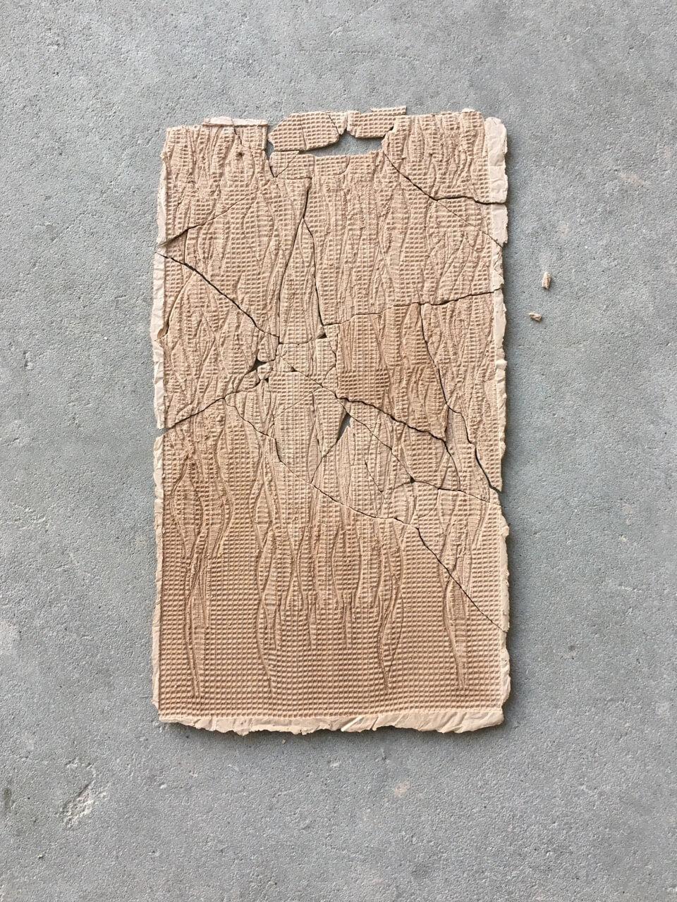 Traces; 2018 plaster POA