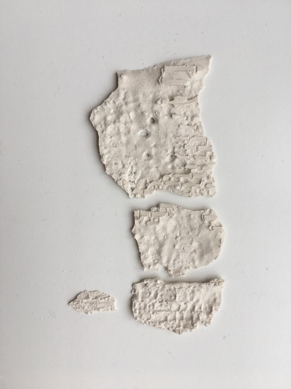 Traces 2018 plaster