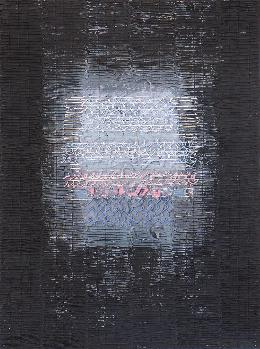 "Shelter 6  Acrylic on canvas, 32""x24"""