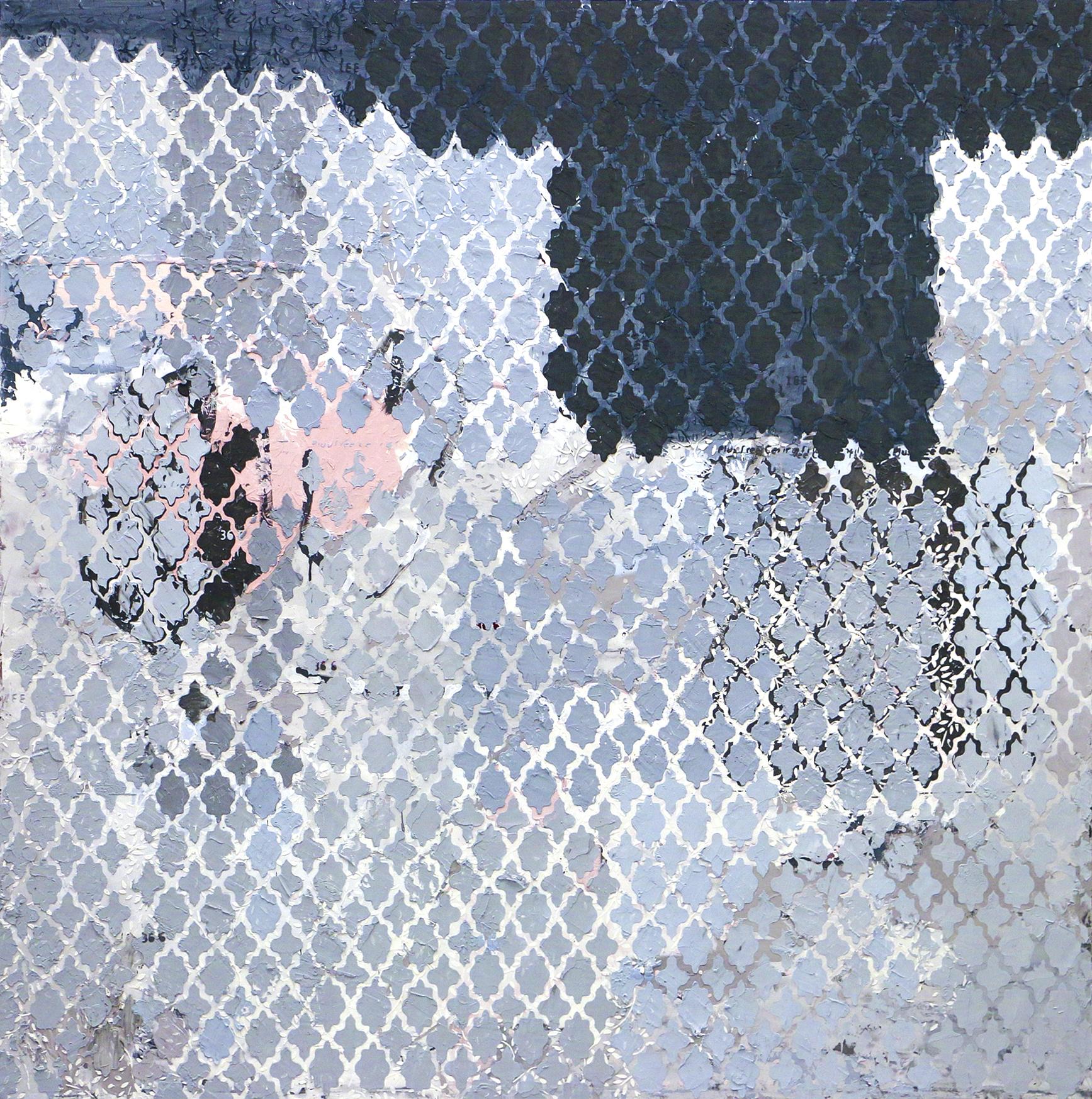 "Pillar City 2  Acrylic on canvas, 72""x72"""