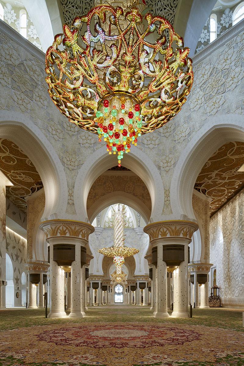 The White Mosque, Abu Dhabi.