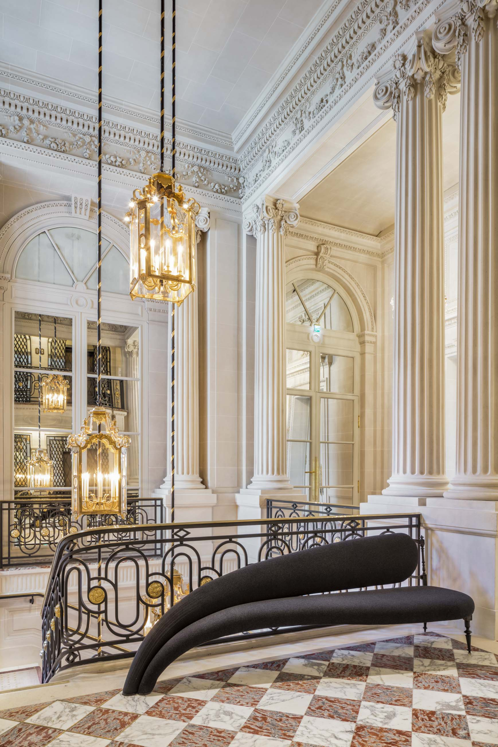 Hotel de Crillon, Paris.