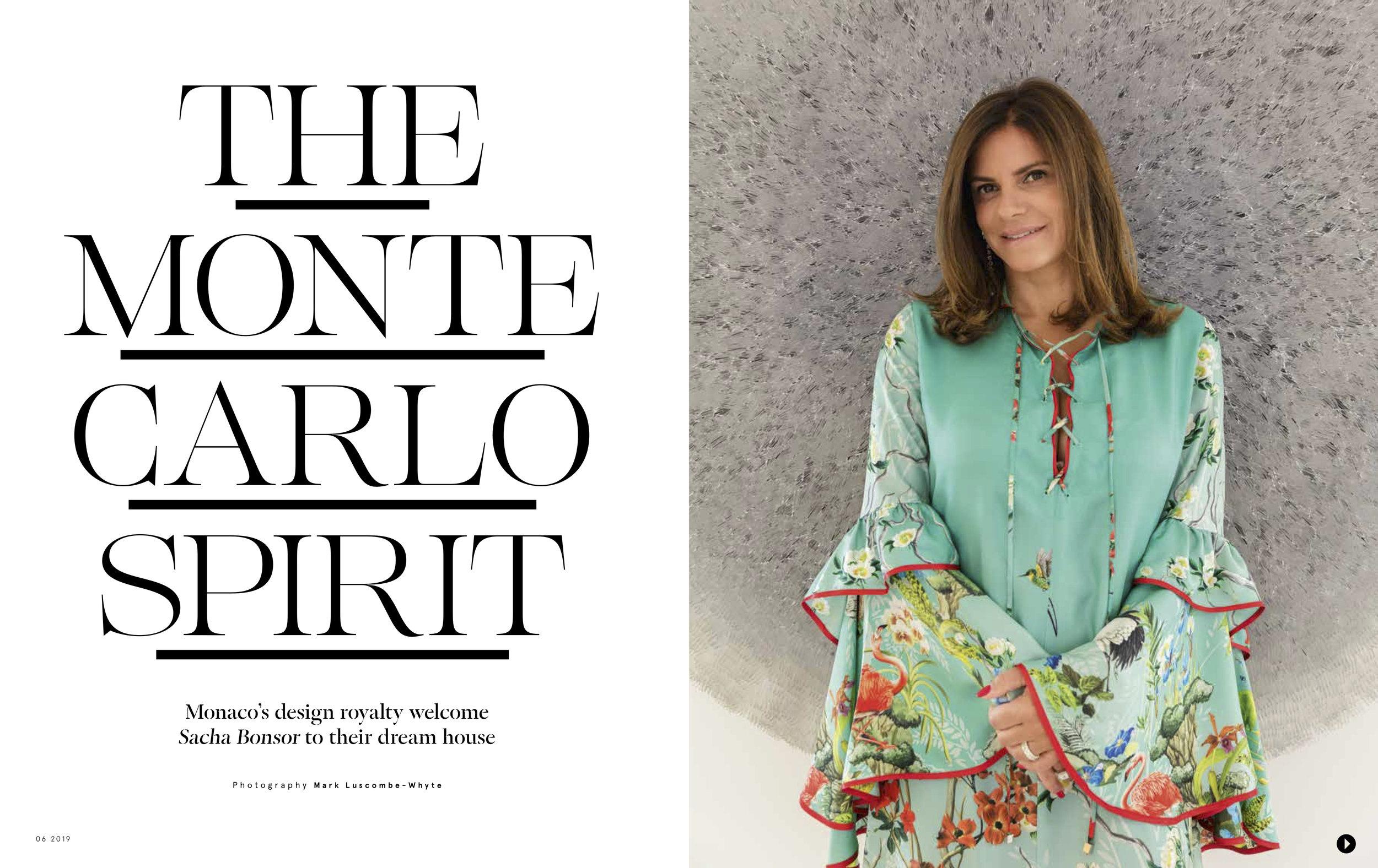 Boat International. Sabrina Monteleone-Oeino. Monaco.