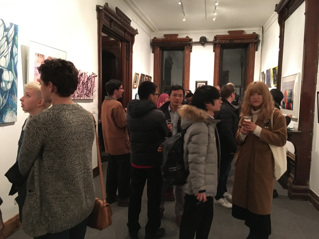 Fall Semester Gallery House Exhibit, a 2015 Highlight