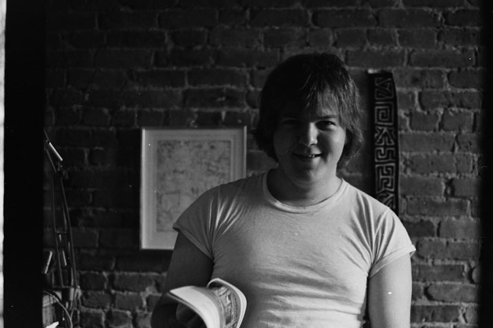 Ron Howanich during his college years at Pratt Institute. Photo by Gil Gerald.