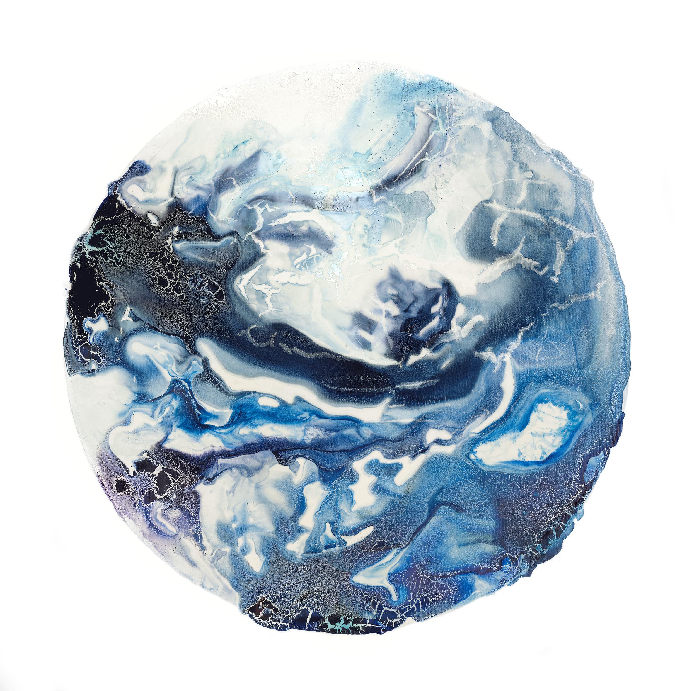 Ice 80x80cm 2016 (SOLD)