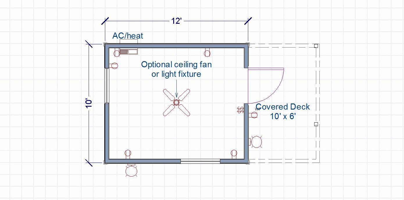 Side Entry floor plan