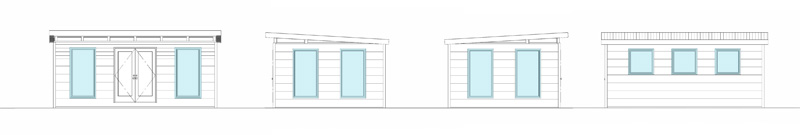 Front Entry Window Placement Options