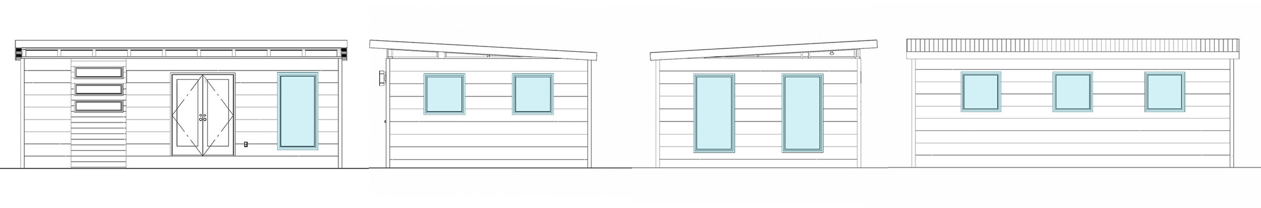 Front Entry Window Placement Option