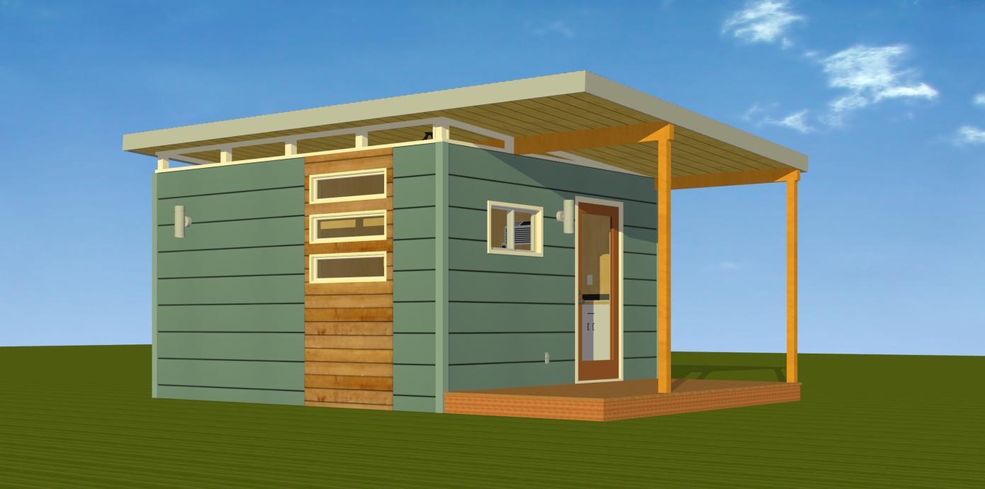 Modern Cabin/Dwelling - Plans & Pricing — Kanga Room Systems