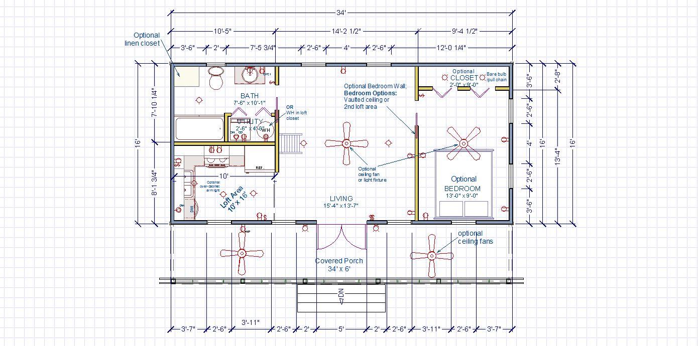 Broad Entry Floor Plan
