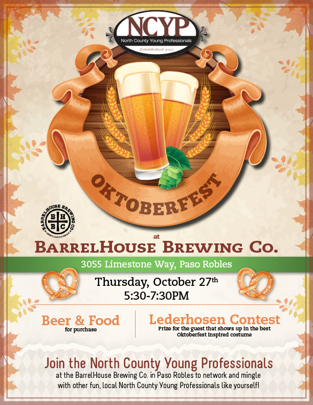 There will also be a brewery tour at 6:00 pm.