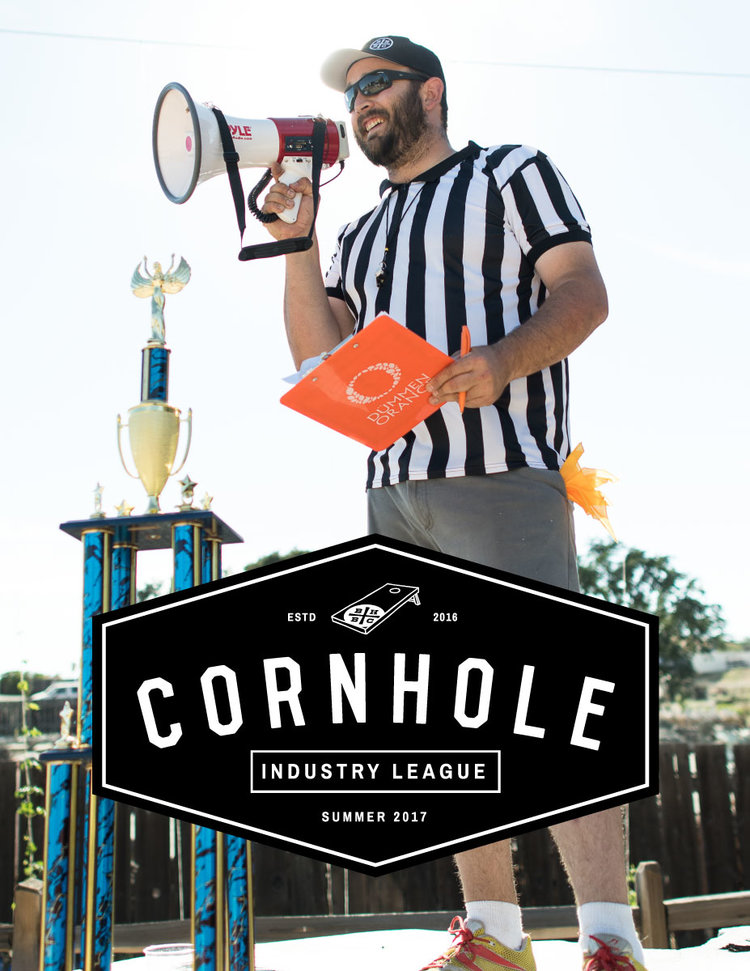 2017 BARRELHOUSE CORNHOLE INDUSTRY LEAGUE    DATE: Tuesday's, May 2nd - August 1st 2017  TIME: 6-8pm  PRICE: $5 per team each week  LOCATION: BarrelHouse Brewing Co. Backyard  If you're in the Beer, Wine, or Spirits industry, we challenge you to come out with your competitive spirit for the second annual BarrelHouse Industry Corn Hole League. We'll have prizes, drink specials, and as always good times!   2016 Picture Gallery    Series:  Tuesday Nights from 6:00-8:00 pm starting May 2 through August 1. Weekly single elimination games with a tournament of champions the final week.   Registration:  Sign up each week on the day of play. $5 per team, payable at the bar. First come, first serve. Bonus point opportunities available each week (at Rustle's discretion).    Weekly:  - $2 off for players during play (excluding barrel-aged beers) - Up to 32 teams of 2 allowed each week - Winner will receive a $25 BHBC gift card - Winner also get to take the trophy home and are expected to bring it back the next week   Tournament of Champions  - Prizes: 60%, 30%, 10% is the first, second, third place - Top 14 teams and 2 wildcards for the tournament of champions - RULES for Tournament of Champions  - Each win is worth 5 series points  - Weekly winner 10 series points  - Top 9 points totals to Tournament of Champions - Bonus Prizes:  - Team Spirit   - Most Creative Name   - Best Dressed  - Always a Bridesmaid - Which team came in 2nd place the most (if there is a tie or not a clear winner, then this prize can go to the person with the most epic loss).   Plus:  Tournament of Champion winner will get to engrave their name on the Corn Hole Trophy and receive a complimentary BHBC Corn Hole set. Let's not forget about a year's worth of bragging rights!   Rules for Cornhole:  - We are adhering to the ACA rules, however for simplification, here's what you need to know:  - If the bag touches the ground it is a dead bag  - 3 pts in the hole.  - 1 on the board  - Net scoring after all bags 