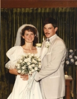 My hubby and I back in July 1988