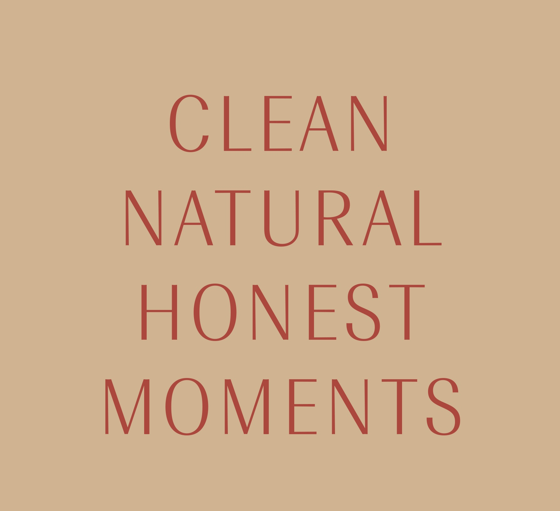 Clean, Natural, Honest, Moments, Photography