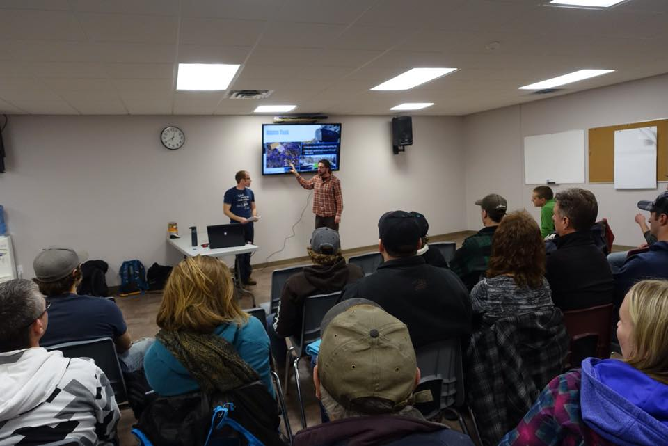 2016 open house for the bike skills park design and consultation process.