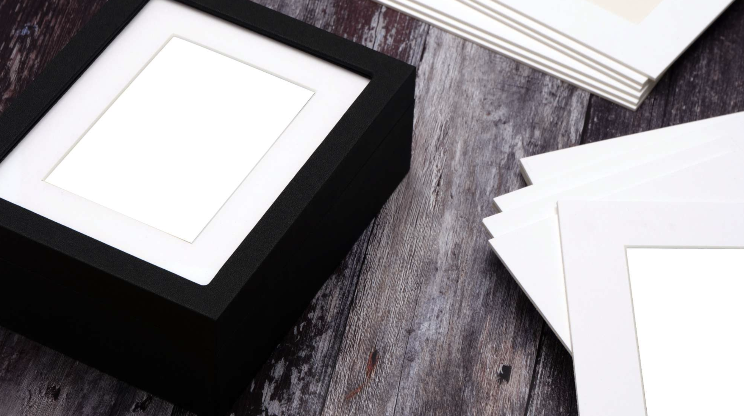 Story Boxes - The beauty of wall art combined with the functionality of a folio box. Just add your beautiful images!