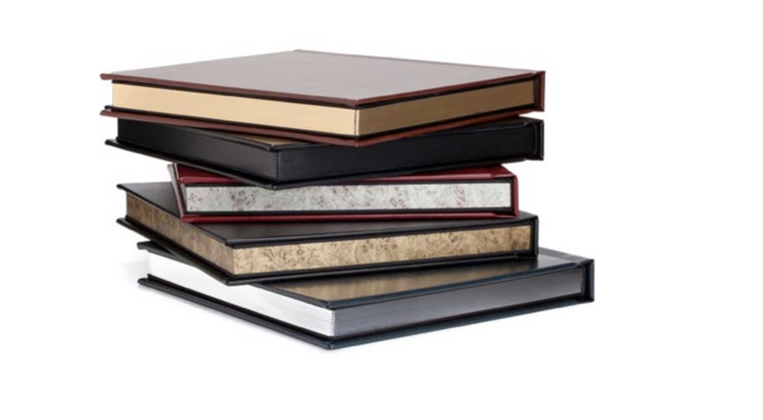 Premium Heirloom Albums - Gorgeous albums with an acrylic cover that you and your family will be able to enjoy and pass down to the next generation.