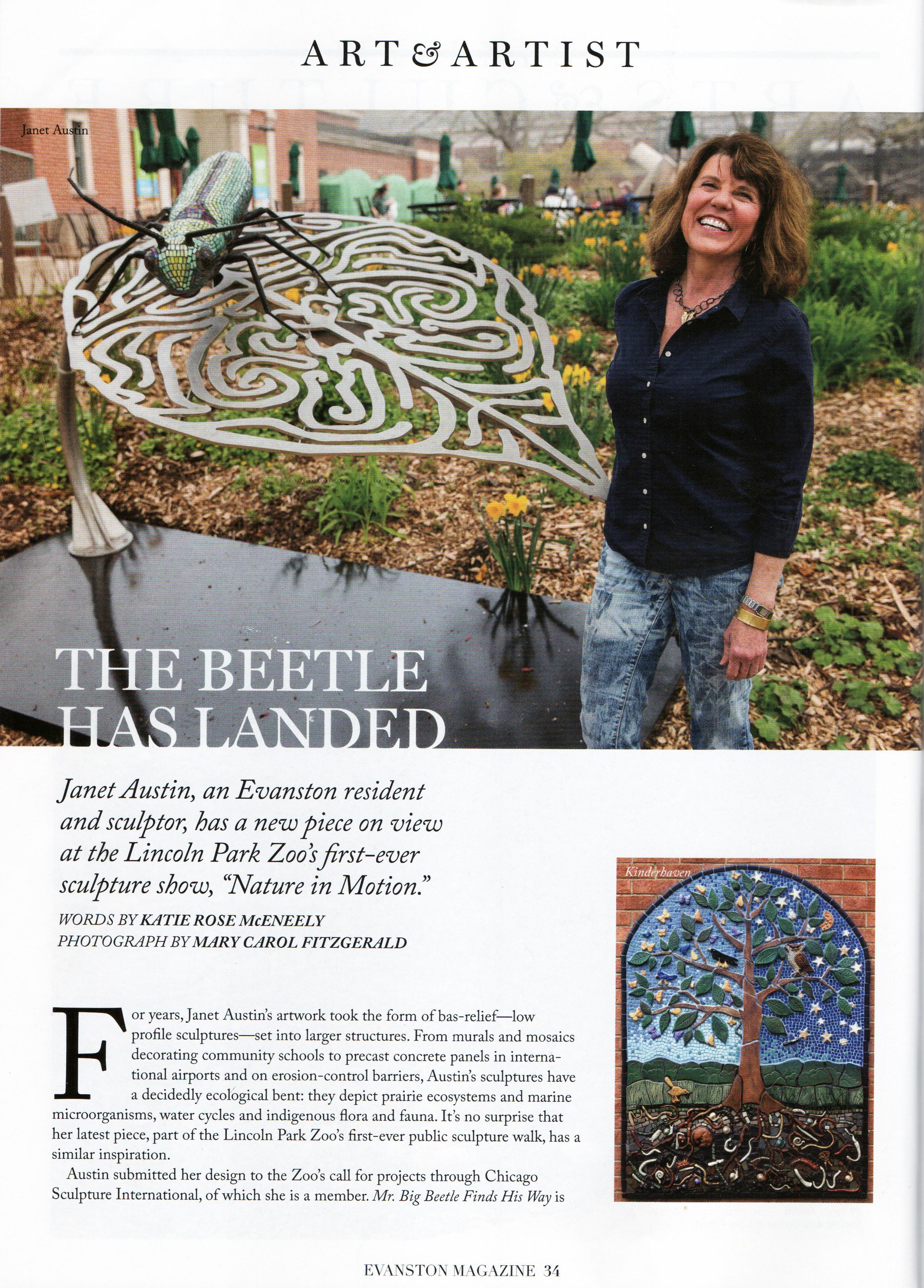 Evanston Magazine pg 1