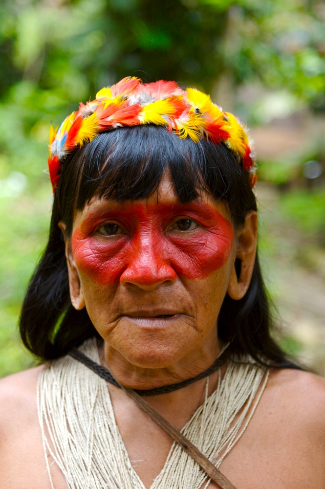 Amazon indigenous woman