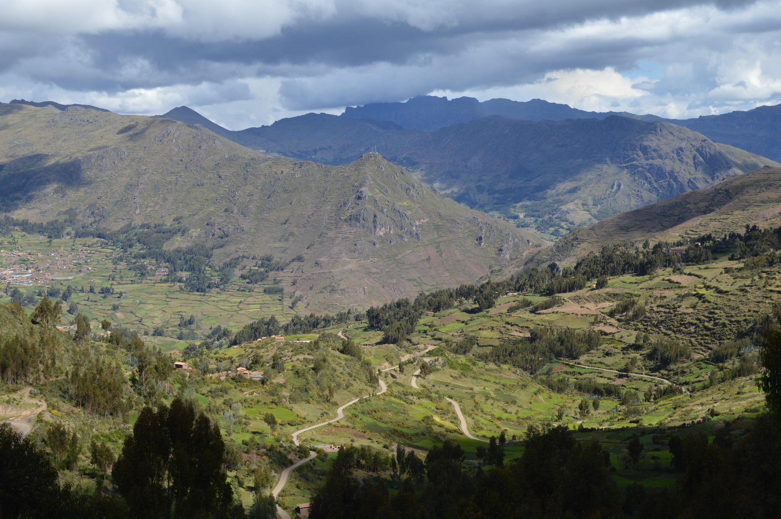 Amaru Community near Cusco, Peru