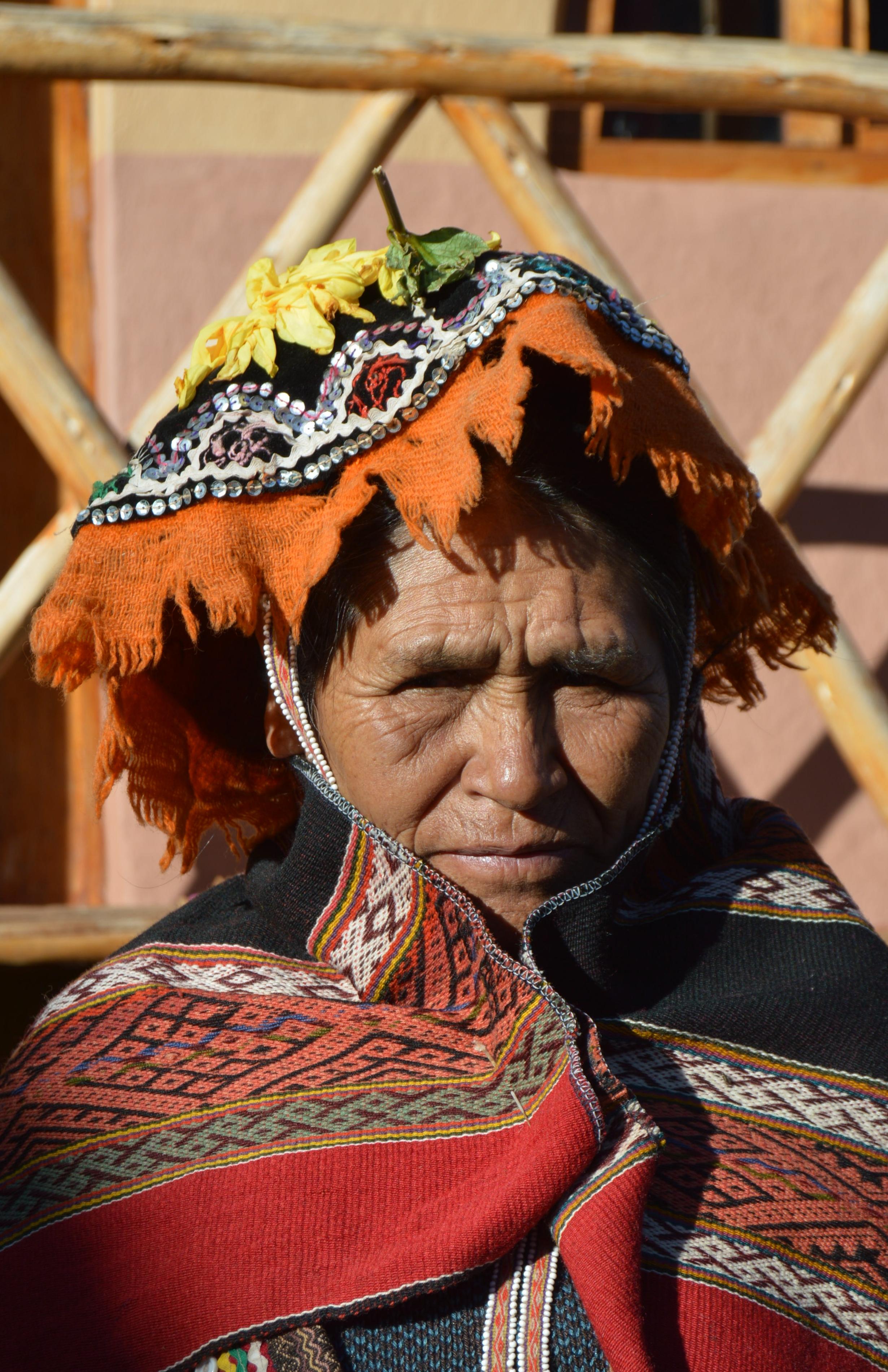 Carmen Sicus Tacuri, Teacher of Ancestral Weaving Techniques