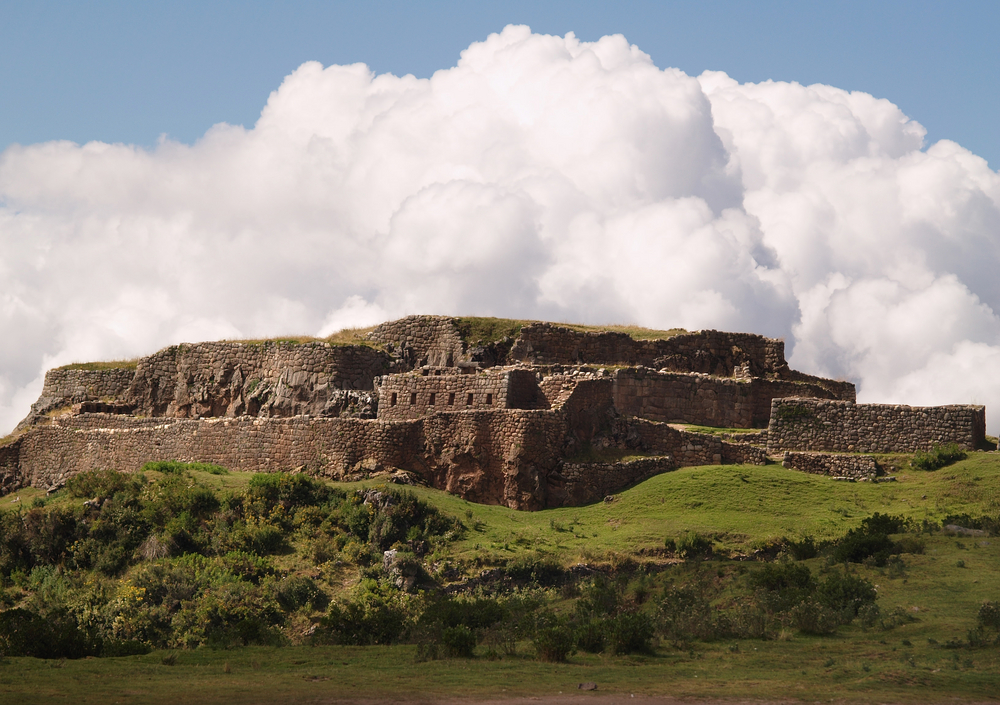 Puca Pukara, Ancient Inca Control Point, Cusco, Peru