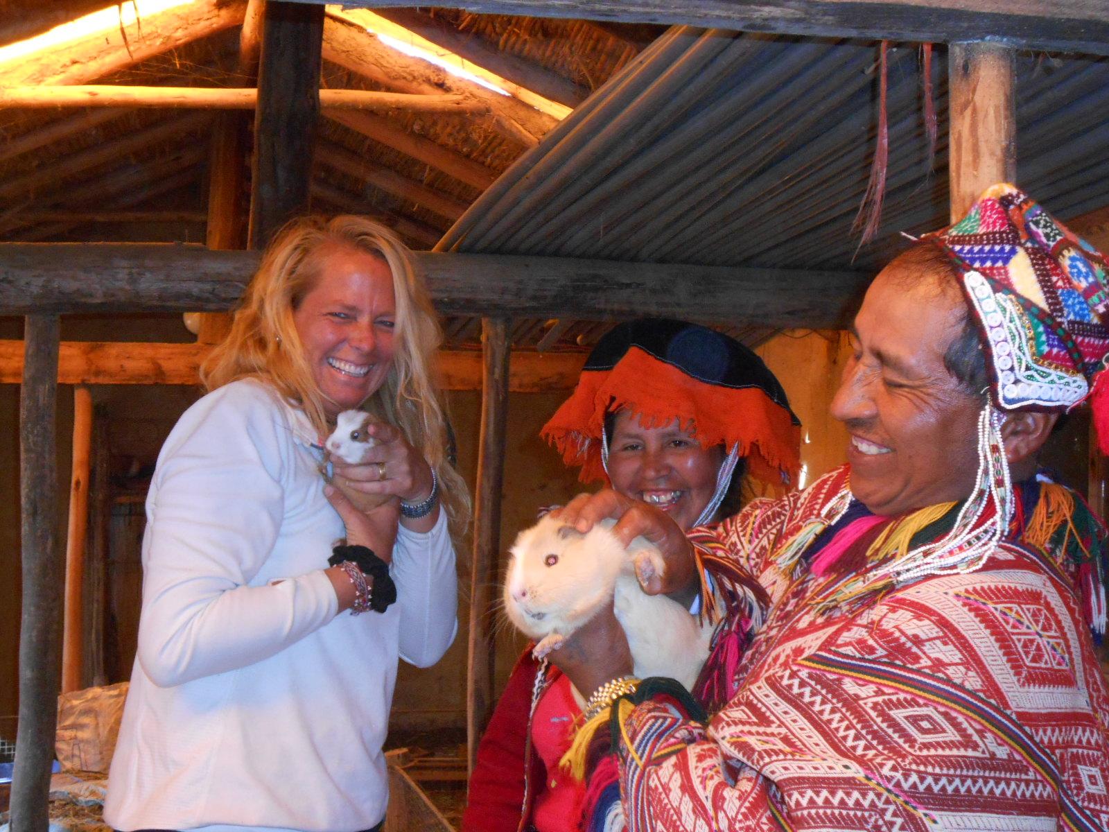 Guinea Pig (Cuy) Farm in Cuyo Grande, Peru