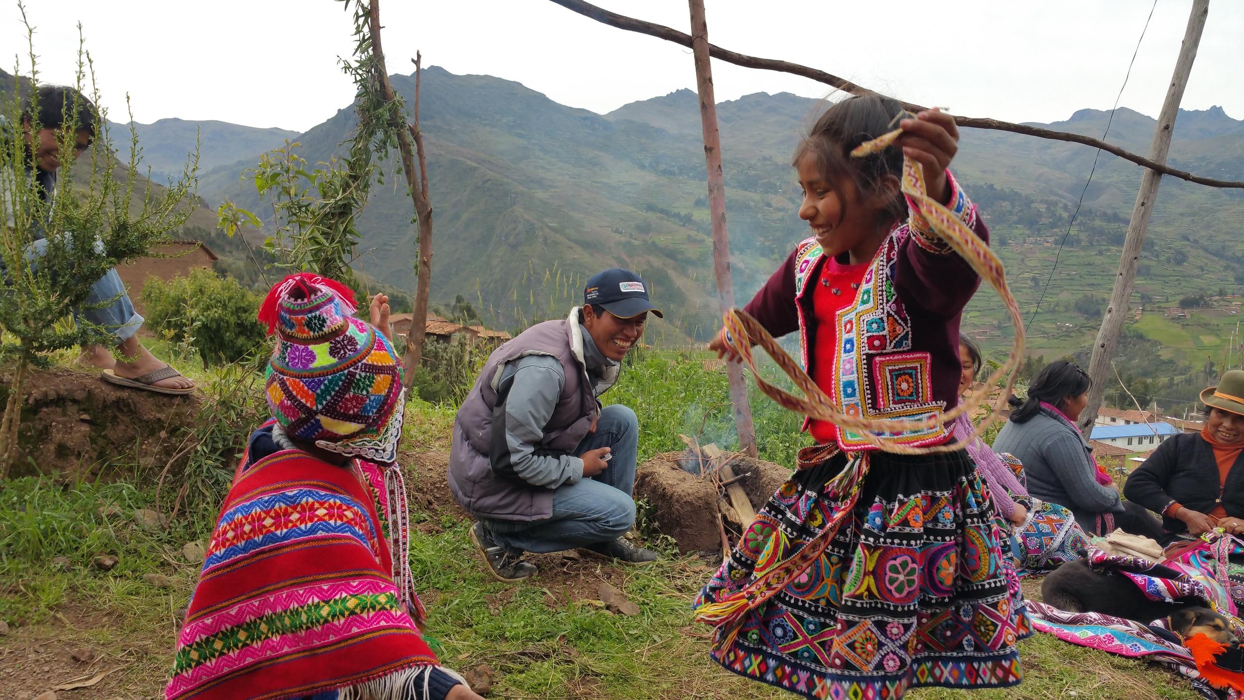 Traditional dance in Cuyo Grande, Peru