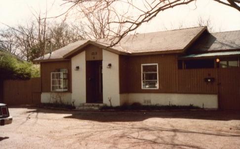 Doug's house: Circa 1989
