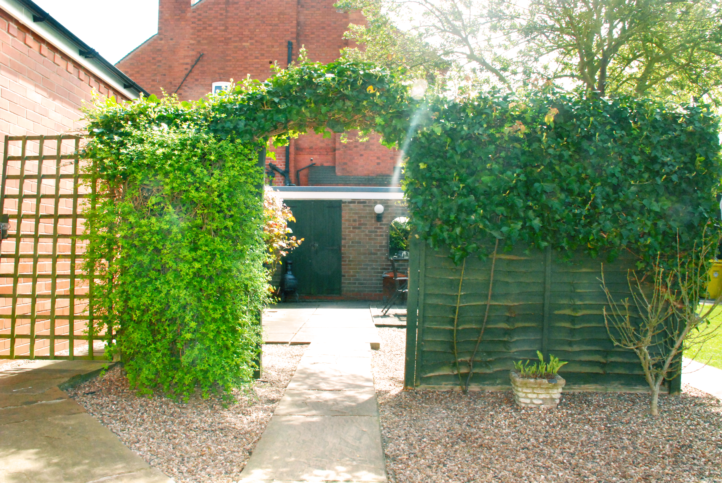 Our Courtyard, an extra place to wonder
