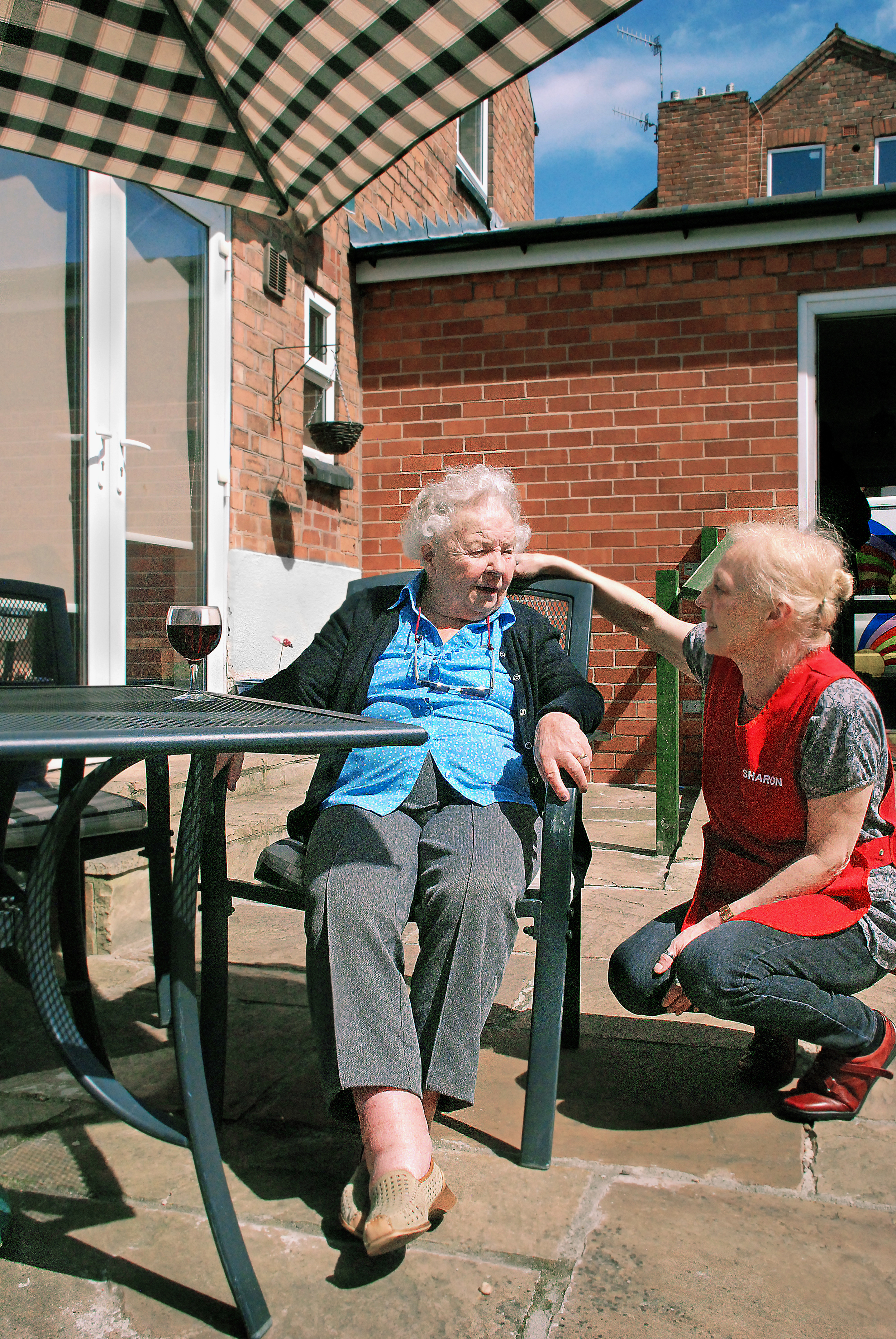 sitting outdoors carer2.jpg