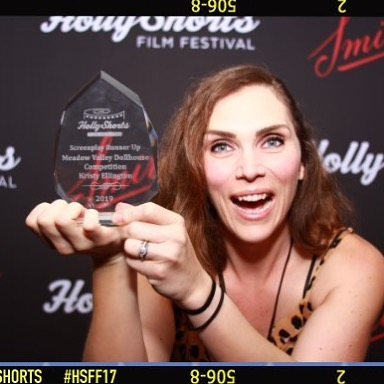 Too soon to change my title to award-winning screenwriter? 🤔 You guys - I GOT RUNNER UP!! WHAT THE WHAT!? 💃🎉🥂 #HSFF19 @hollyshorts