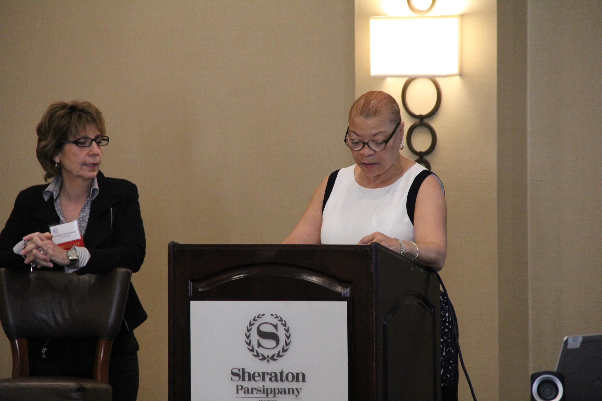 President, Loretta Sophocleous  Secretary, Debbie Lee