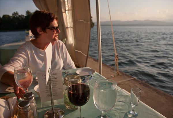 Patty shore diner Basin Harbor 8/8/2011