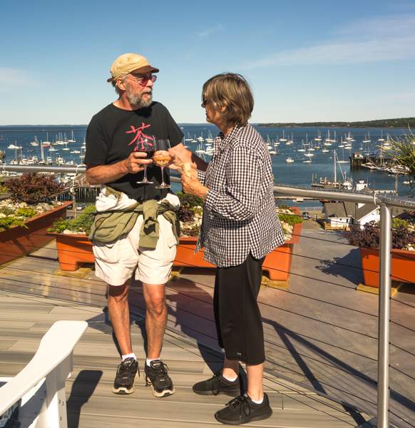 At the top - 250 Main, Rockland Maine