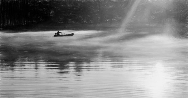 Walden Pond, PhaseOne IQ 180 50mm 1/20 f14 ISO 35