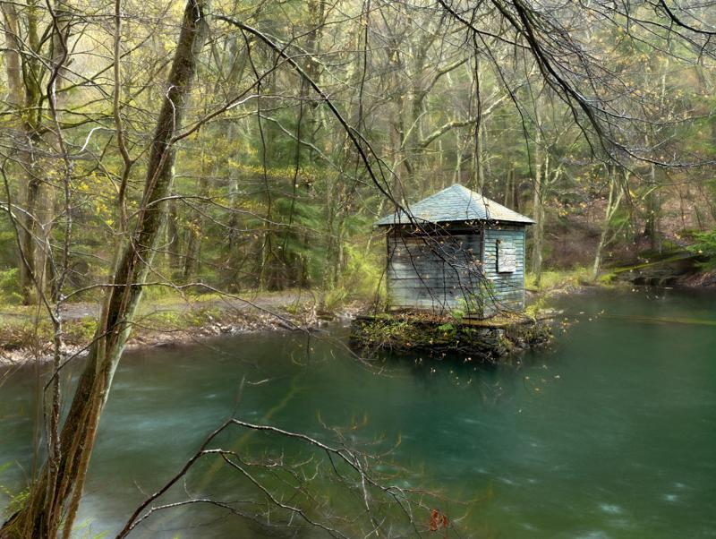 Monk's Pond PhaseOne IQ180 80mm 1/3 sec f12 ISO 35
