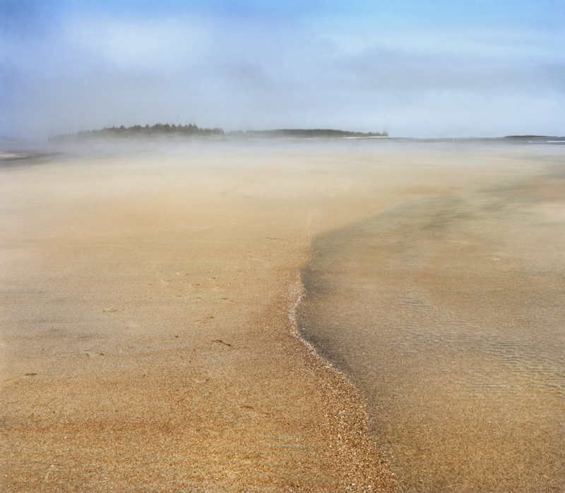 Popham Beach PhaseOne IQ 180 80mm 1/50 sec f14 ISO 35