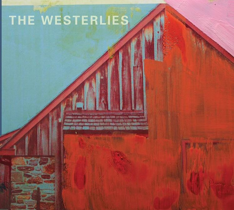 Check out the awesome cover artwork from #thewesterlies new album, coming out 10/7! I swear I know that building from somewhere…