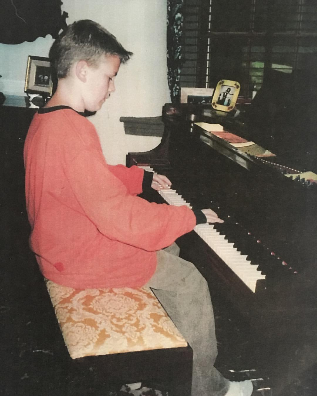 #tbt I grew up playing this @steinwayofficial piano, and it is such an honor to still have it in the studio today. #thefarmstudio