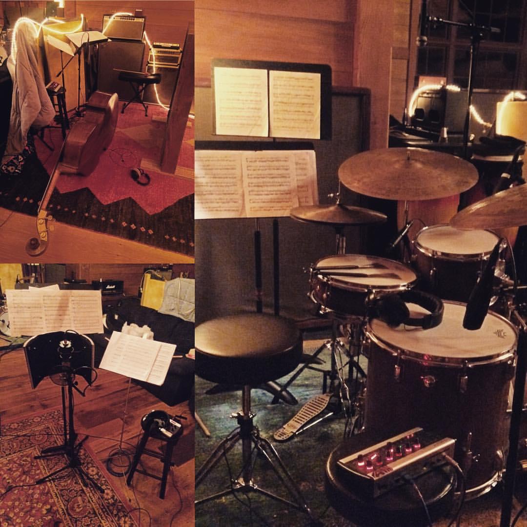 Ready for a full day of tracking Xavier Del Castillo's trio #thefarmstudio