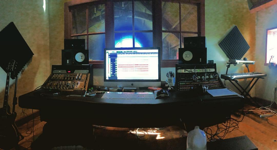 Mixing #TheAmboys today  #thefarmstudio