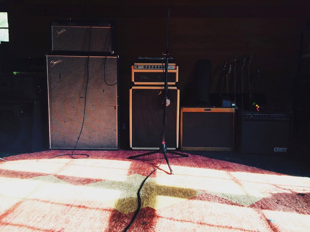 Sunday funday with electric guitar #thefarmstudio