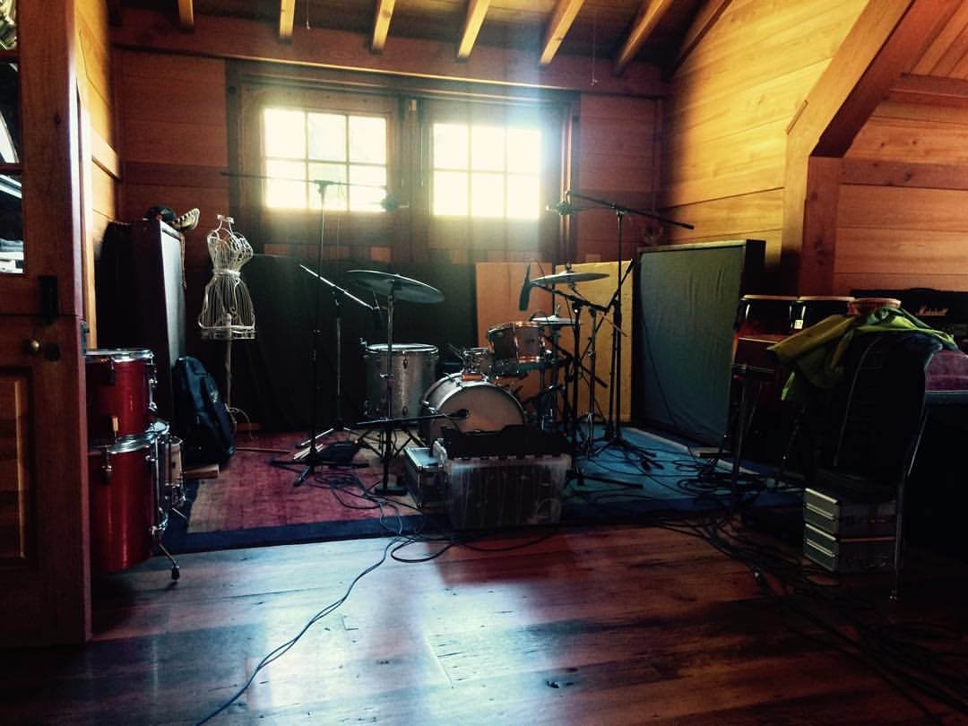 Getting ready for a weekend of tracking with @james.carrancio and @ian.patrick.mcguinness   #thefarmstudio