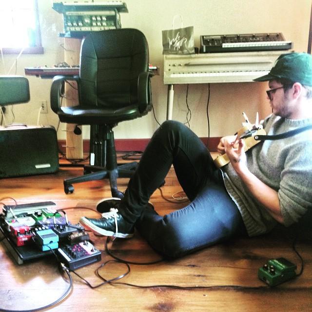 Finishing up guitars   #thefarmstudio