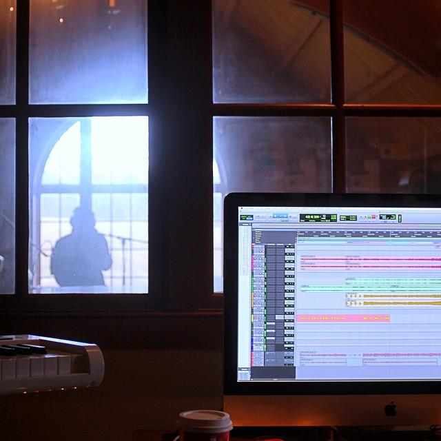 Had an awesome time tracking with @charliesztykmusic   #thefarmstudio